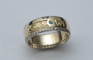 Family Inspired Wedding Ring