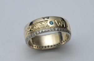 Family Inspired Wedding Ring
